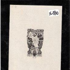 Arte: EX-LIBRIS- MARIANO CASTELLS - (X-180). Lote 28006126