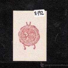 Arte: EX-LIBRIS- LUIS ENRIQUE DE GRANADA - (X-192). Lote 28006213