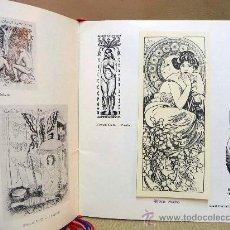 Arte: EXLIBRIS, SOUVEREIN EXLIBRIS, KWIAT I KOBIETA U EXLIBRISIE, RUTER PAM. G., HOLANDIA, 1984. Lote 28659122