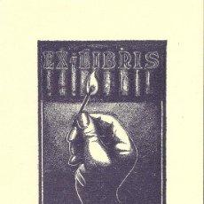 Arte: EX-LIBRIS DE JUAN ANGLADA-VILLÁ - 1955. Lote 28573653
