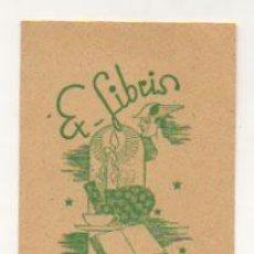 Arte: EXLIBRIS. EX-LIBRIS. C.J.F. V.D. MEER. JR. (9,5 X 6 CM.) . Lote 29202209