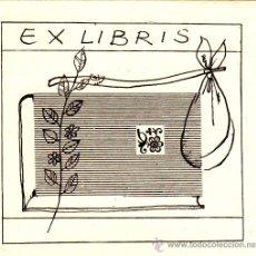 Arte: EX-LIBRIS . Lote 29582261