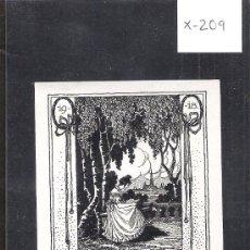 Arte: EX LIBRIS - ( X-209). Lote 29826022