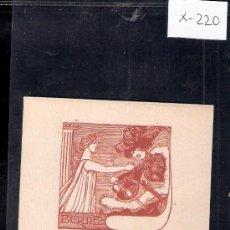 Arte: EX LIBRIS - BERTIE - ( X-220). Lote 29826226