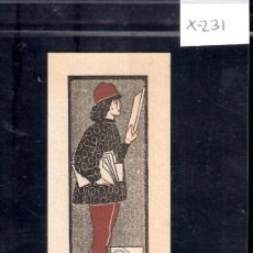 Arte: EX LIBRIS - ALBERT TREIER -( X-231). Lote 29826381
