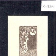 Arte: EX LIBRIS - J . HLADKY -( X-234). Lote 29826436