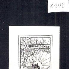 Arte: EX LIBRIS - ( X-242). Lote 29826644