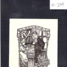 Arte: EX LIBRIS - ( X-249). Lote 29826866