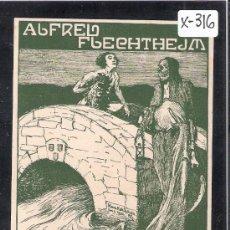 Arte: EX LIBRIS - ALFRED FLECHTHEJM - MED. 8X11 CM. - (X-316). Lote 30029877