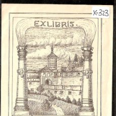 Arte: EX LIBRIS - WILHEM KRAHMER - MED. 11 X15 CM. - (X-323). Lote 30030102