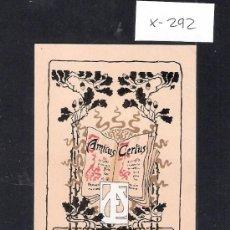 Arte: EX LIBRIS - FRANCISCI CUCCHIARI - (X-292). Lote 30407055