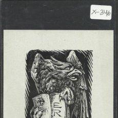 Arte: EX LIBRIS - (X-346). Lote 30724309