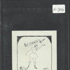 Arte: EX LIBRIS - (X-396). Lote 30725192