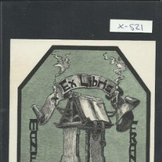 Arte: EX LIBRIS - MANFRED FRANCKH - (X-521). Lote 31864120