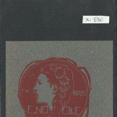 Arte: EX LIBRIS - E. NOELLE - (X-530). Lote 31876389