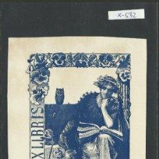 Arte: EX LIBRIS- O. SIVTTE - (X-532). Lote 31876417