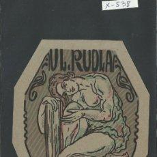 Arte: EX LIBRIS- UL. RUDLA - (X-538). Lote 31876484