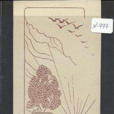 Arte: EX-LIBRIS - JOSEPH M. TORRENTS - (X-777). Lote 34409532