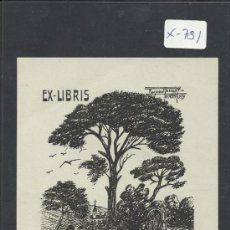 Arte: EX-LIBRIS - MARIA MAGDALENA OTAMENDI DE OLACIREGUI - (X-781). Lote 34409829