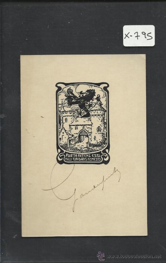 EX LIBRIS - (X-795) (Arte - Ex Libris)