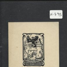 Arte: EX LIBRIS - (X-795). Lote 35644067