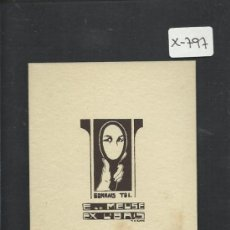 Arte: EX LIBRIS - MEUSE- (X-797). Lote 35644122