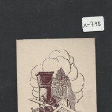 Arte: EX LIBRIS - HANS HOFMANN - (X-798). Lote 35644146