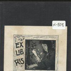 Arte: EX LIBRIS - ALL CAYER - (X-808). Lote 35644412