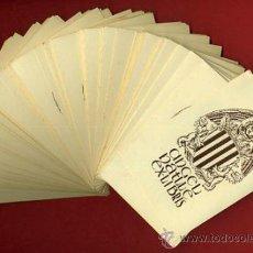 Arte: LOTE DE MAS DE 100 EX LIBRIS , EXLIBRIS , ANGEL BATLLE , ORIGINAL. Lote 36923411