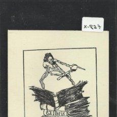 Arte: EX LIBRIS - (X-837). Lote 36993279