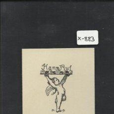Arte: EX LIBRIS - HANS RUF - (X-876). Lote 37237083