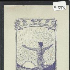 Arte: EX LIBRIS - HANS WANGER (X-893). Lote 37237263