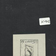 Arte: EX LIBRIS - (X-942). Lote 37258098