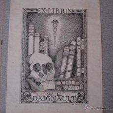 Arte: COLECCION UNICA DE EXLIBRIS TODOS DISTINTOS ORIGINALES MUY ANTIGUOS ALGUNOS FIRMADOS CUBA. Lote 42299647