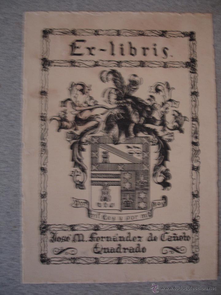 Arte: COLECCION UNICA DE EXLIBRIS TODOS DISTINTOS ORIGINALES MUY ANTIGUOS ALGUNOS FIRMADOS CUBA - Foto 3 - 42299647