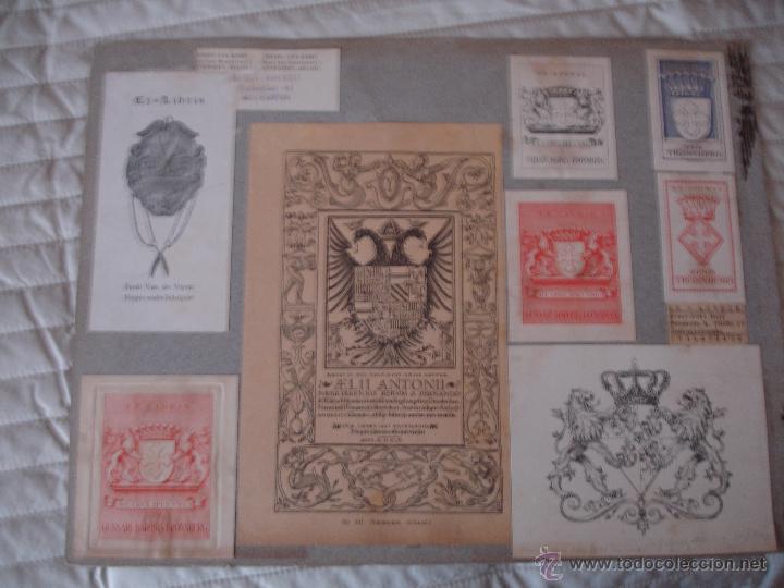Arte: COLECCION UNICA DE EXLIBRIS TODOS DISTINTOS ORIGINALES MUY ANTIGUOS ALGUNOS FIRMADOS CUBA - Foto 5 - 42299647