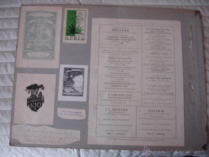 Arte: COLECCION UNICA DE EXLIBRIS TODOS DISTINTOS ORIGINALES MUY ANTIGUOS ALGUNOS FIRMADOS CUBA - Foto 10 - 42299647
