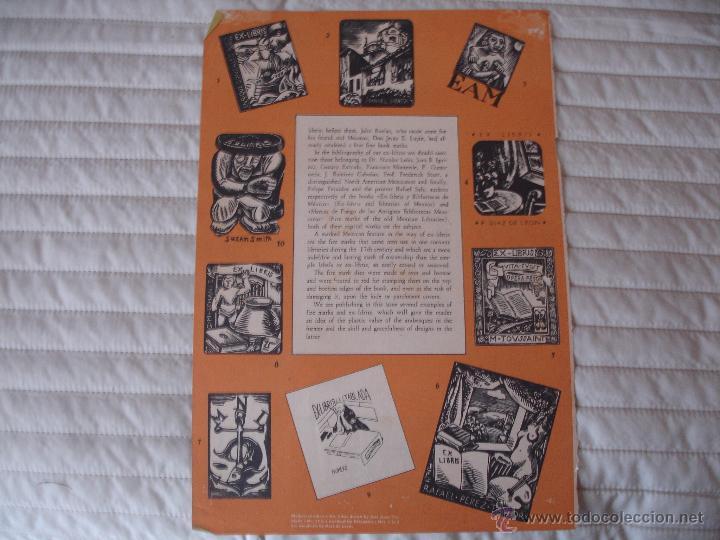 Arte: COLECCION UNICA DE EXLIBRIS TODOS DISTINTOS ORIGINALES MUY ANTIGUOS ALGUNOS FIRMADOS CUBA - Foto 14 - 42299647