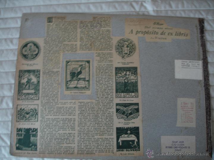 Arte: COLECCION UNICA DE EXLIBRIS TODOS DISTINTOS ORIGINALES MUY ANTIGUOS ALGUNOS FIRMADOS CUBA - Foto 23 - 42299647