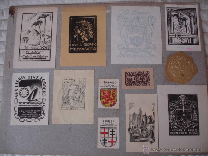 Arte: COLECCION UNICA DE EXLIBRIS TODOS DISTINTOS ORIGINALES MUY ANTIGUOS ALGUNOS FIRMADOS CUBA - Foto 53 - 42299647