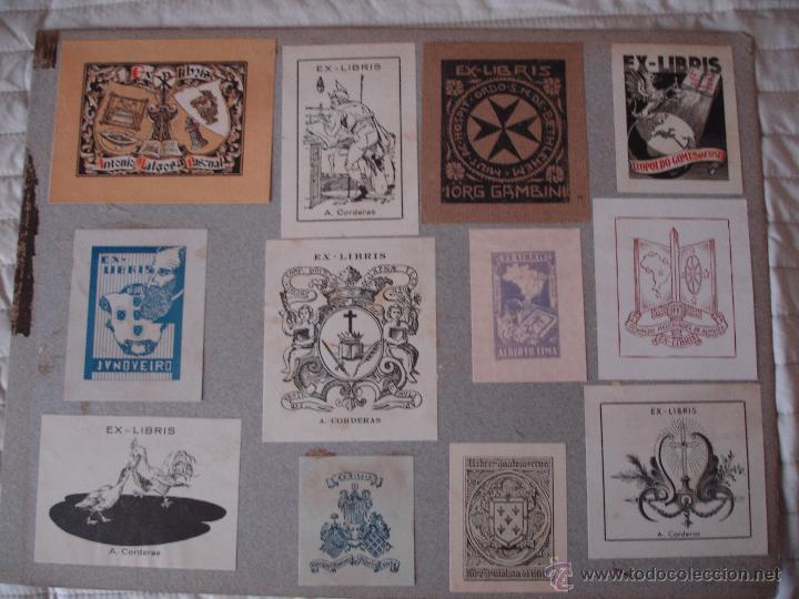 Arte: COLECCION UNICA DE EXLIBRIS TODOS DISTINTOS ORIGINALES MUY ANTIGUOS ALGUNOS FIRMADOS CUBA - Foto 54 - 42299647