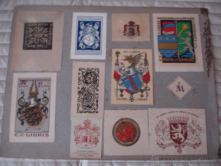 Arte: COLECCION UNICA DE EXLIBRIS TODOS DISTINTOS ORIGINALES MUY ANTIGUOS ALGUNOS FIRMADOS CUBA - Foto 60 - 42299647