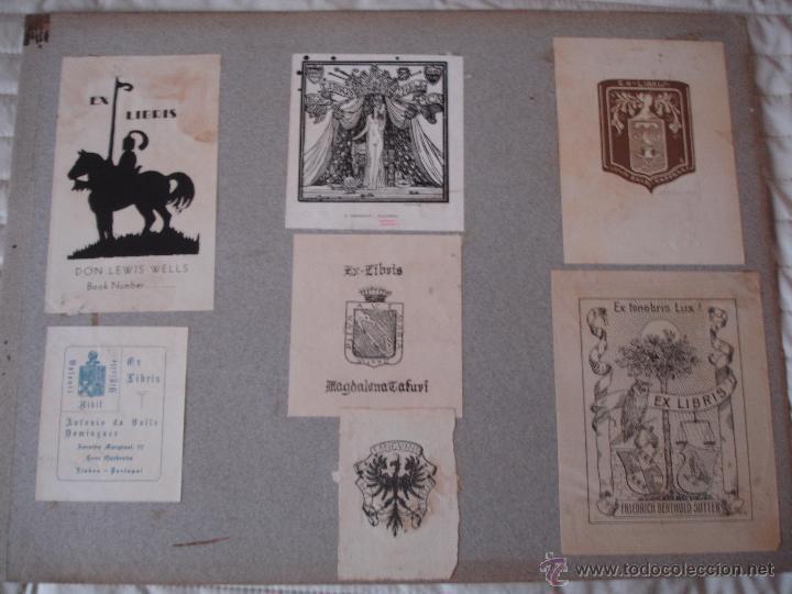 Arte: COLECCION UNICA DE EXLIBRIS TODOS DISTINTOS ORIGINALES MUY ANTIGUOS ALGUNOS FIRMADOS CUBA - Foto 61 - 42299647