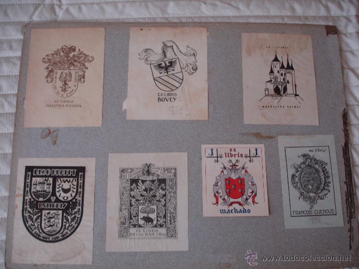 Arte: COLECCION UNICA DE EXLIBRIS TODOS DISTINTOS ORIGINALES MUY ANTIGUOS ALGUNOS FIRMADOS CUBA - Foto 62 - 42299647
