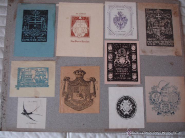Arte: COLECCION UNICA DE EXLIBRIS TODOS DISTINTOS ORIGINALES MUY ANTIGUOS ALGUNOS FIRMADOS CUBA - Foto 65 - 42299647