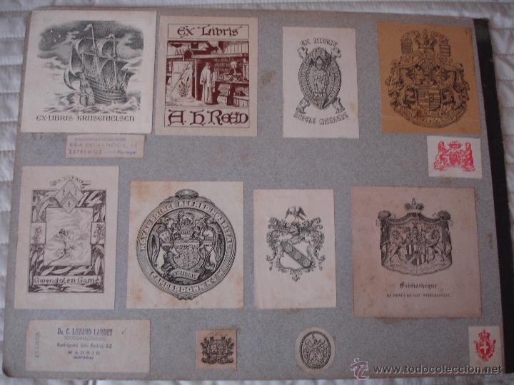 Arte: COLECCION UNICA DE EXLIBRIS TODOS DISTINTOS ORIGINALES MUY ANTIGUOS ALGUNOS FIRMADOS CUBA - Foto 68 - 42299647