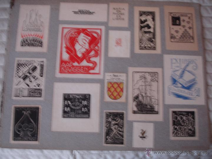 Arte: COLECCION UNICA DE EXLIBRIS TODOS DISTINTOS ORIGINALES MUY ANTIGUOS ALGUNOS FIRMADOS CUBA - Foto 69 - 42299647