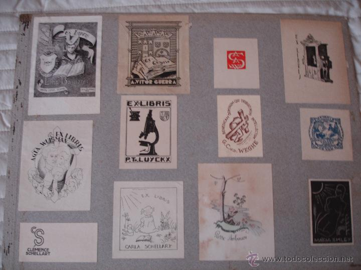 Arte: COLECCION UNICA DE EXLIBRIS TODOS DISTINTOS ORIGINALES MUY ANTIGUOS ALGUNOS FIRMADOS CUBA - Foto 72 - 42299647