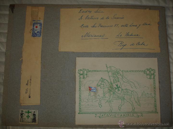 Arte: COLECCION UNICA DE EXLIBRIS TODOS DISTINTOS ORIGINALES MUY ANTIGUOS ALGUNOS FIRMADOS CUBA - Foto 80 - 42299647