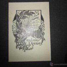 Arte: EX LIBRIS - JOAN AMADES - (X-1060). Lote 43695901